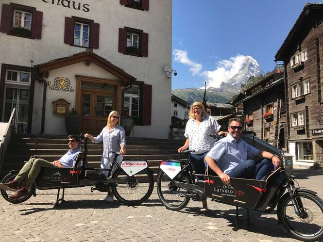 carvelo2go in Zermatt